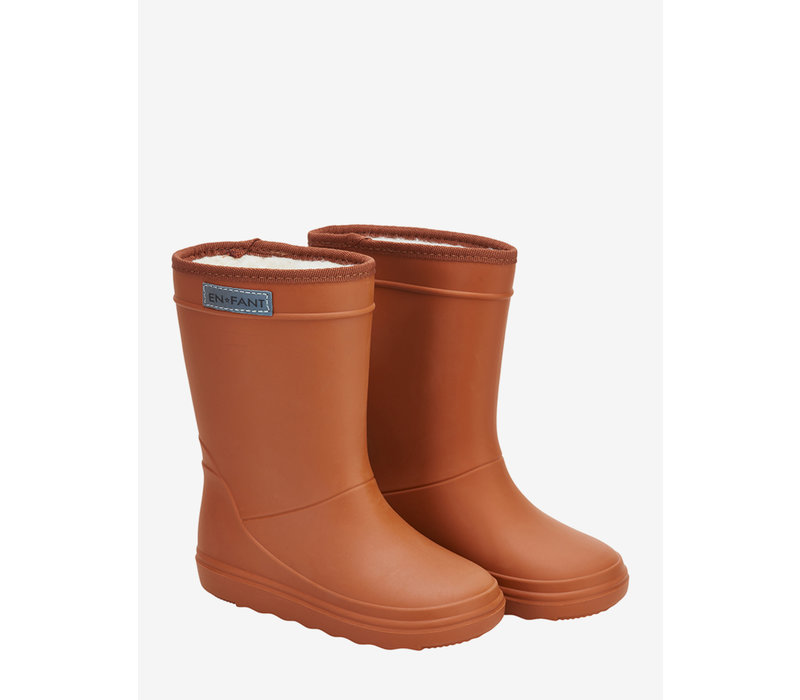 Enfant - Thermo boot Leather Brown 253