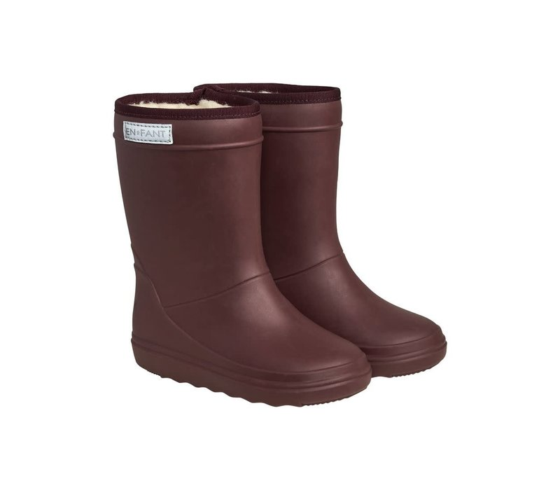 Enfant - Thermo boot Vineyard Wine 4031
