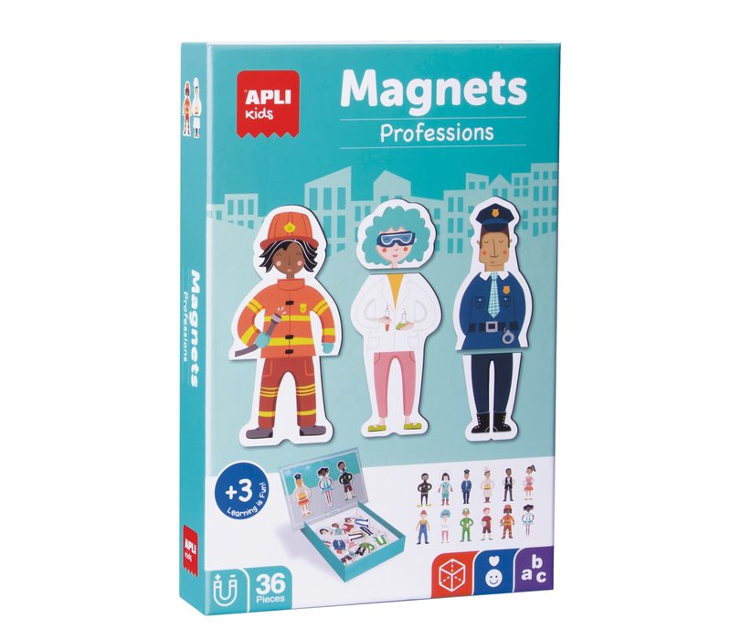 APLI - Beroepen Magneetkaart 36-delig