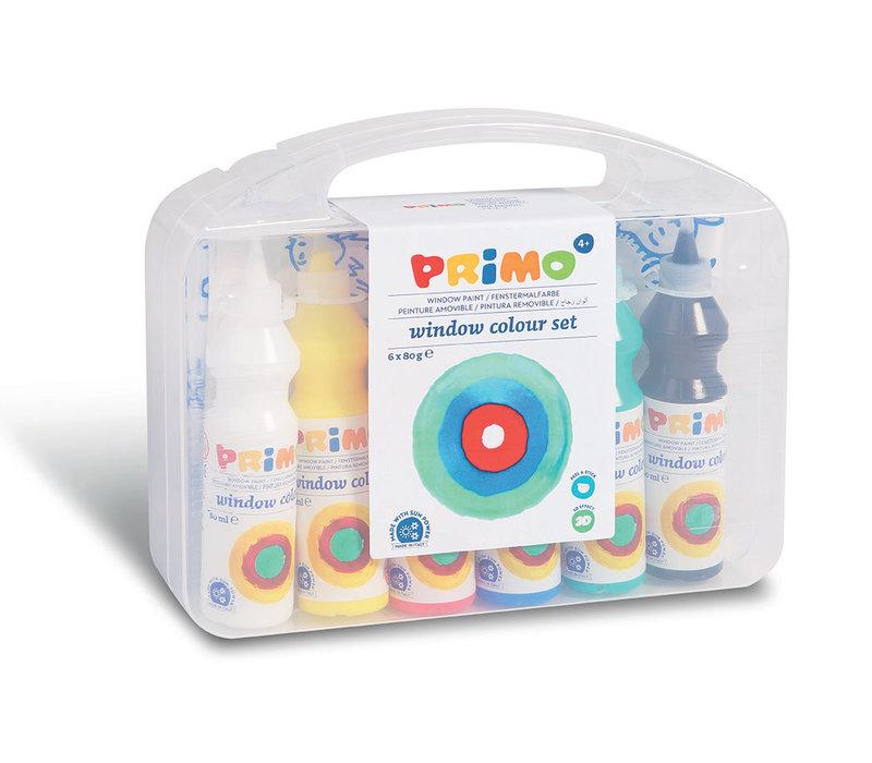 PRIMO - Raamverf in fles (6x75ml) accessoires