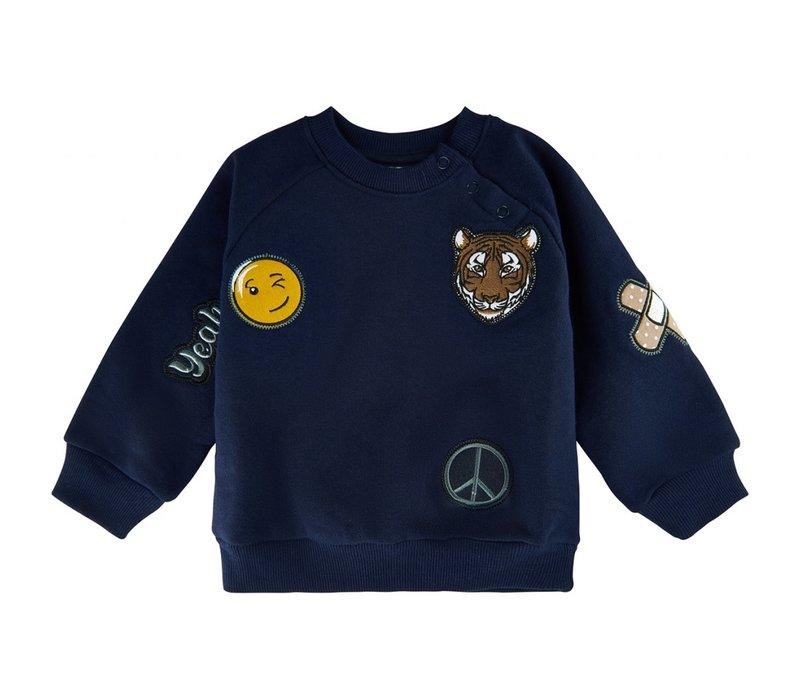 The New - Andrew sweatshirt navy blazer