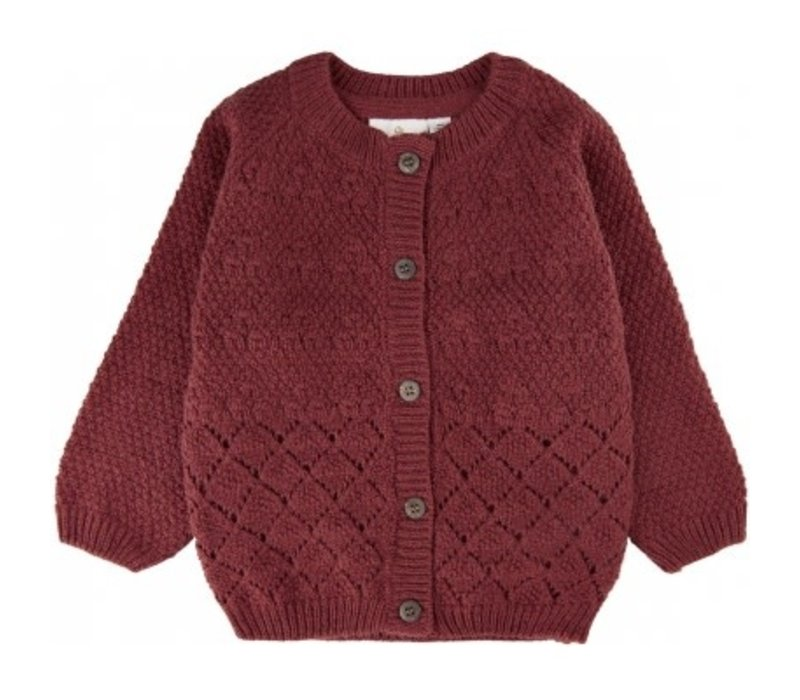 The New - Ariel knit cardigan apple butter