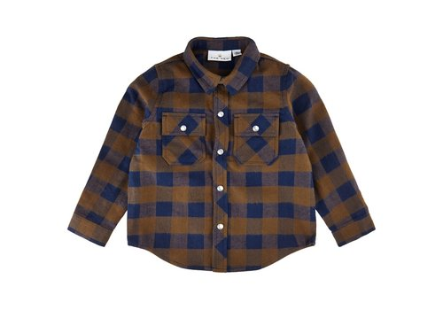 The New The New - Asher  LS shirt toffee