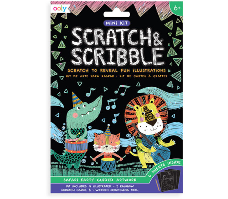 Ooly - mini scratch & scrabble Safariparty