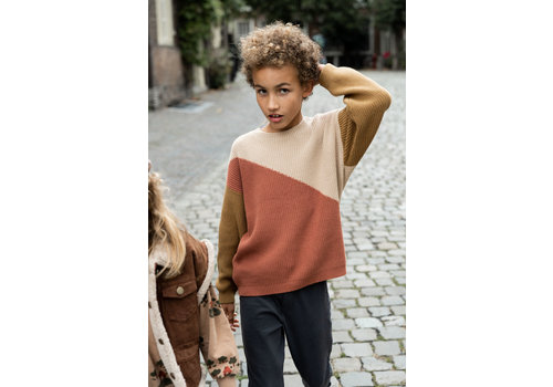 Sproet & Sprout Sproet & Sprout - Sweater colour block