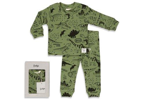 Feetje Feetje - Premium Dino Drew - Army