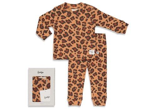 Feetje Feetje - Premium Leopard Lee - Hazelnoot