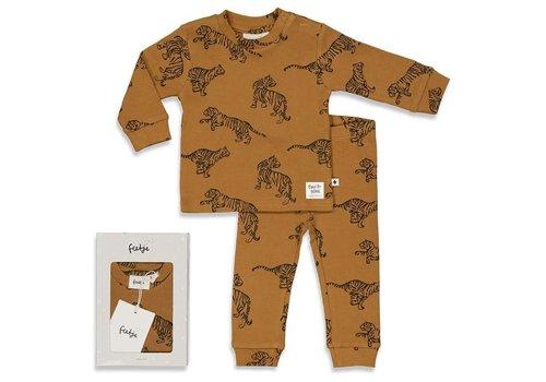 Feetje Feetje - Premium Tiger Terry -  Camel
