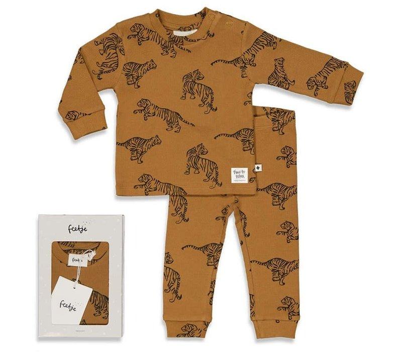 Feetje - Premium Tiger Terry -  Camel