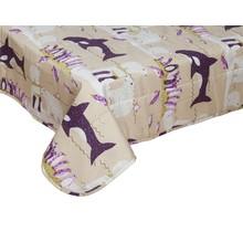 PINGULI - Couvre-lit pour enfants   Lilas