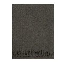 CORONA UNI - Wool Blanket - Brown - 130x170