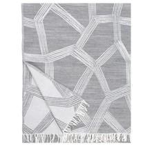 HIMMELI Wollen Plaid Grijs - 140x180