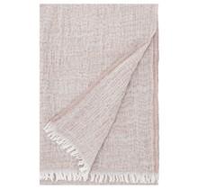 HETA scarf white-beige-orange 65 x 205 cm