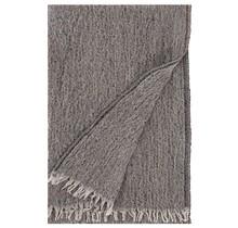 Шарф HETA черно-бежево-оранжевый 65 x 205 см