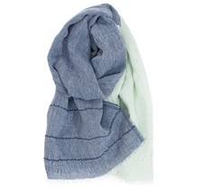 TSAVO scarf blueberry-mint