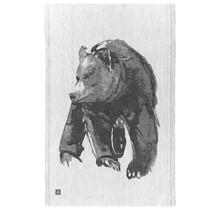 KARHU - Kitchen towel - Black/Grey - 46x70