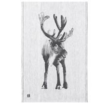 PORO - Kitchen Towel - Black/Grey - 46x70