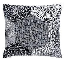 RUUT Sierkussensloop 50 x 50 cm zwart-wit