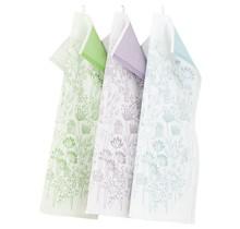SOMMARSTUGA Полотенце кухонное Белое Зеленое 46 x 70 см
