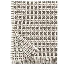 CORONA - Wollen Plaid - Beige Wit Bruin - 130 x 170