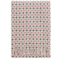 CORONA - Couverture en laine - Gris rose - 130x170