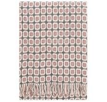 CORONA - Wool Blanket - Pink Grey - 130x170