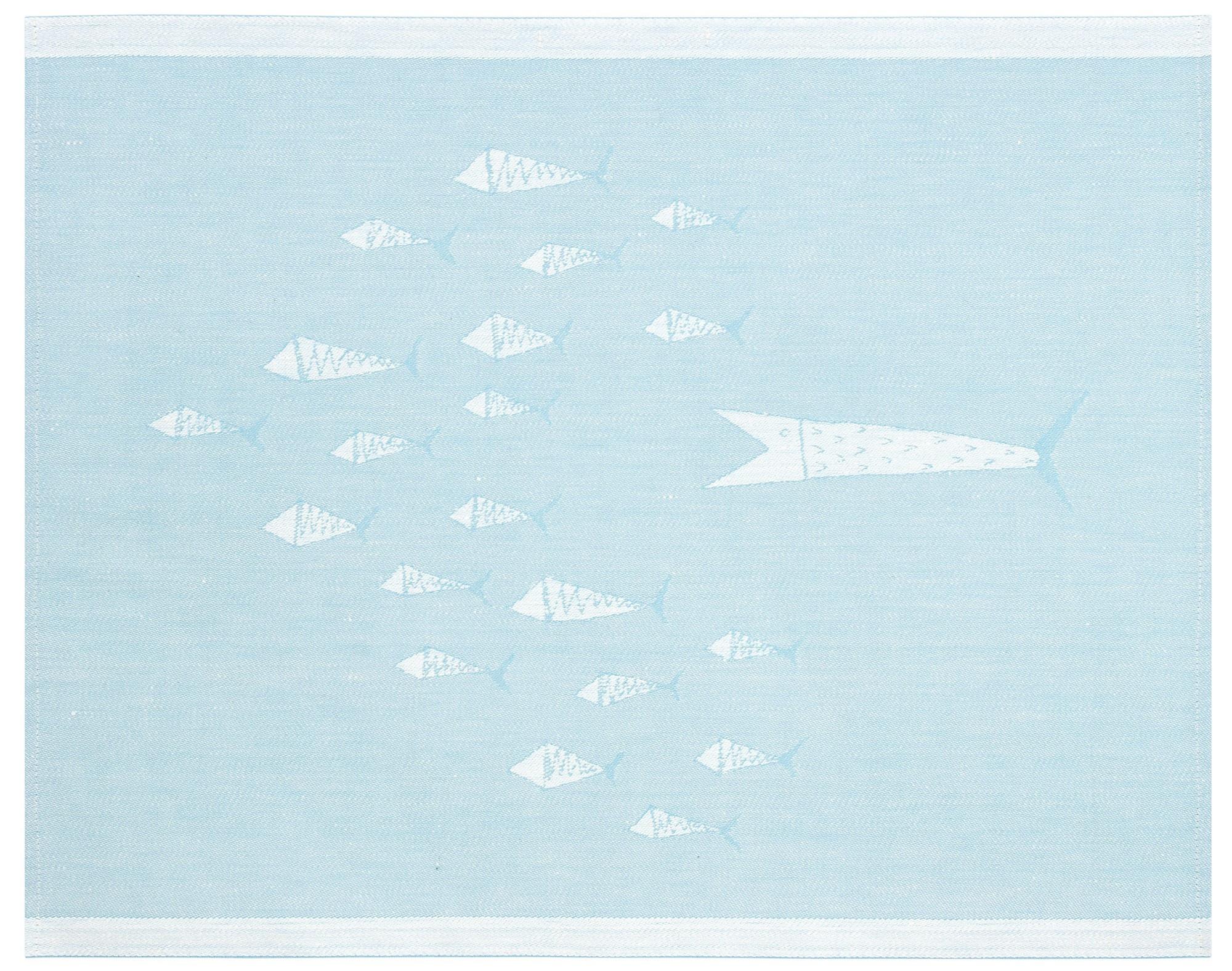 Housse de Siège FISUT Turquoise Blanc - 46x60