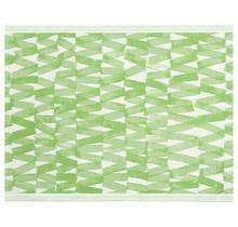 PÄRE Sauna Seat Cover Green White - 46x60