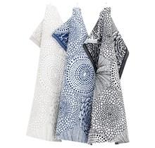 RUUT - Kitchen Towel Blue White - 48x70
