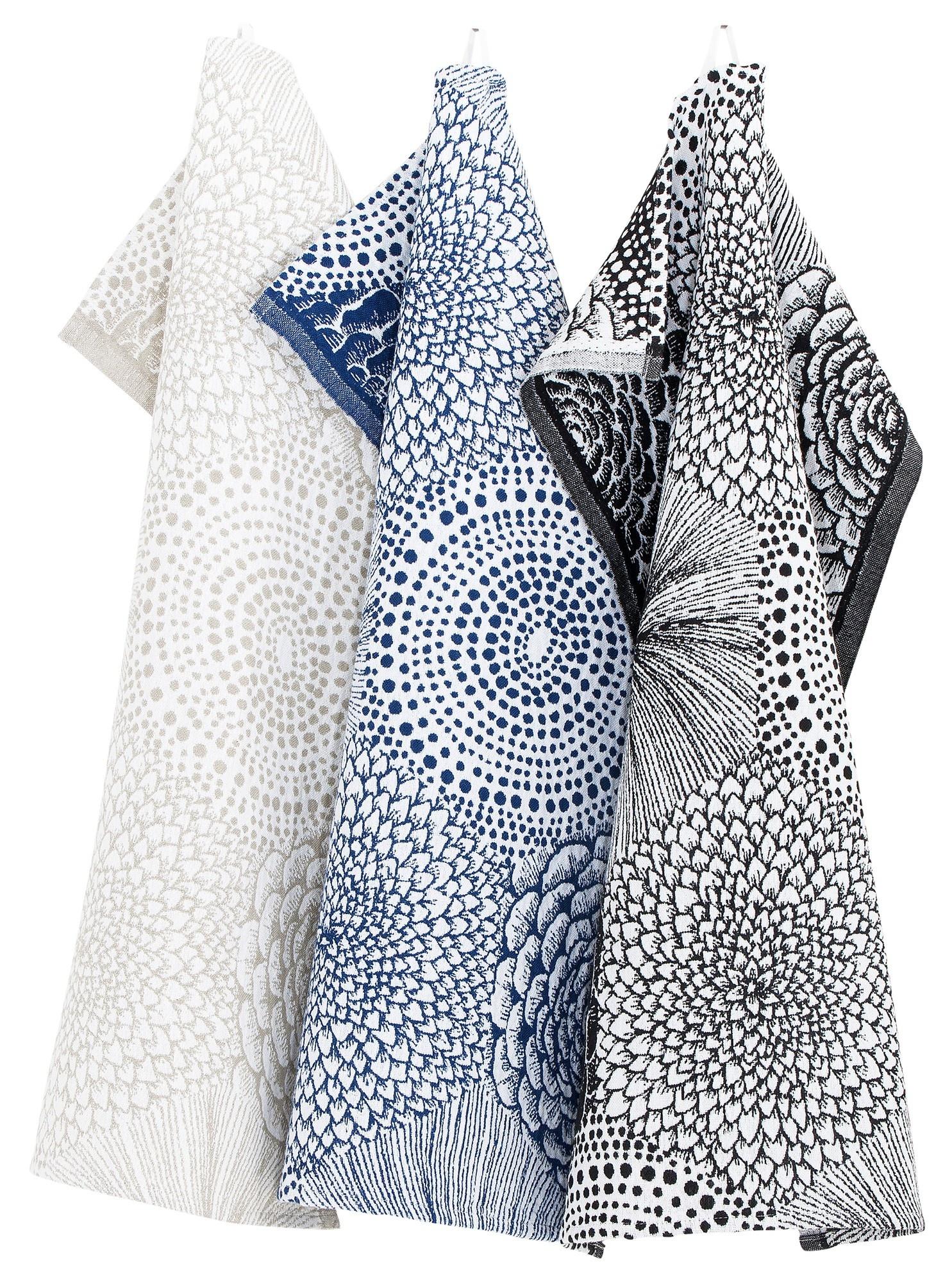 RUUT - Полотенце кухонное Синий Белый - 48x70