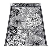 RUUT - Chemin de table | Blanc Noir - 48x150