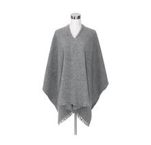 CORONA UNI - Poncho - Light Grey - 125x75