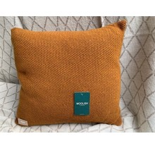 Woolish, Kissen, 40x40cm, sudan braun