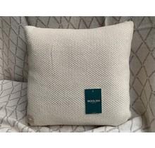 Woolish, kussen, 40x40cm, white