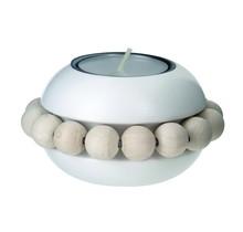 NEITO - Teelichthalter - weiss - 8cm