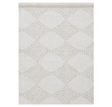 TIMANTTI - Tischdecke aus weißem Leinen - 150x220