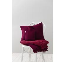 Couverture en laine ALVA Rouge - 130x170