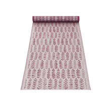 RUUSU x HVITTRÄSK - chemin de table lin bordeaux - 48x150