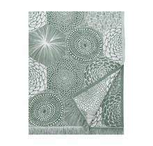 RUUT - Nappe / couverture d'été - Vert / Blanc - 140x240