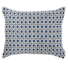 CORONA - Cushion - Grey/Blue - 50x40