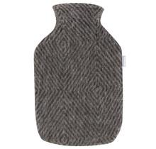 MARIA - Hot Water Bottle - Brown/Black