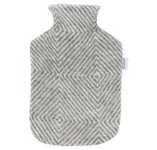 MARIA - Hot Water Bottle - Grey/White