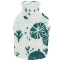 METSIKKÖ - Hot Water Bottle - Green/White