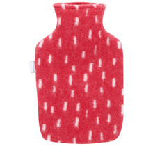 PYRY - Hot Water Bottle - Red/White