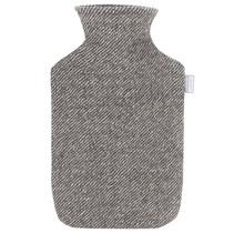 SARA - Hot Water Bottle - Brown/White