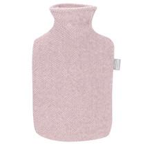 SARA - Hot Water Bottle - Pink/White