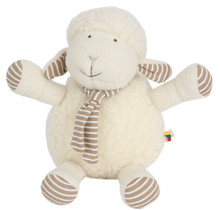 FLO, little sheep, from soft merino wool, 25cm tall