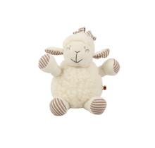 КАТИ, овечка, из мягкой мериносовой шерсти, высотой 25см.