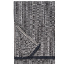 KOLI - Шерстяной плед - Бежево-черный - 150x170