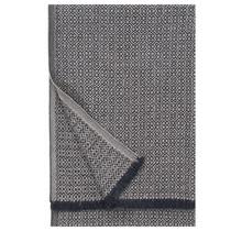 KOLI - Wolldecke - Beige Schwarz - 150x170